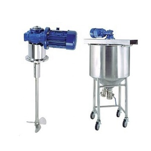 Industrial small soap detergent agitator liquid mixer machine