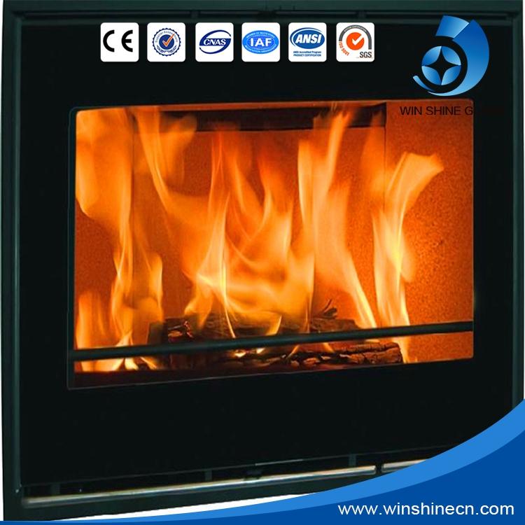fireplace screen glass photos