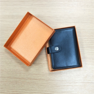 Wholesale Custom Purses/Wallets Gift Packing Package Box for Men/Women