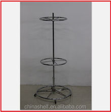 used galvanization cheap clothing display racks for sale