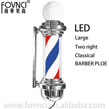 Extra Lamp Elektrische Motor Kapper Pole Kapper Teken Pole Roating