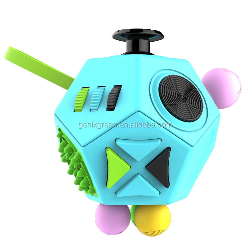 Funny Magic Toys Kids & Adults Fidget Cube Relieves Stress Children Desk Toy Matt Surface Smooth Touch Fidget Cube