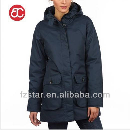 Women's Wind Proof Padded Parka PQ297