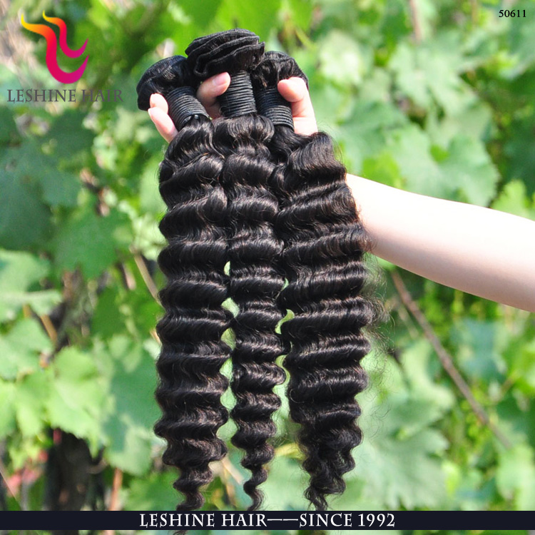 2016 New Double Weft Double Drawn raw virgin unprocessed human hair