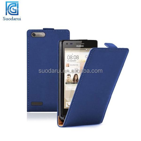 Mix colors ULTRA SLIM Leather Flip Case for Huawei Ascend P7 Mini Cover Mobile Phone Accessories