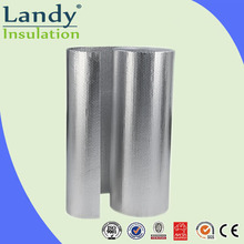 Bubble insulation glass reinforced aluminium foil