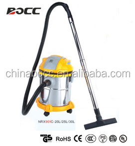 rustless handy wet and dry vacuum cleaner plastic body CE GS
