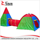 China wholesale market DIY kids play tent house tunnel nylon