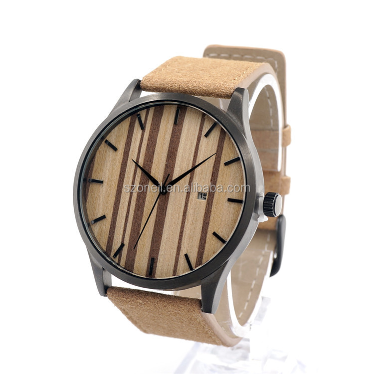 2016 Shenzhen hand watch fast <strong>delivery</strong> time wooden clock
