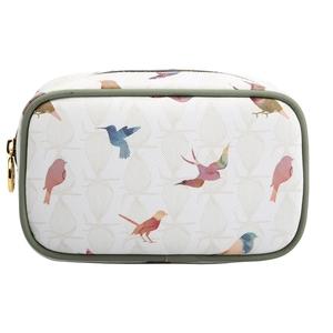 2461efbd7998 Makeup Bag Cosmetic Case Toiletry Bag Printed PVC Zipped Top Organizer Pouch