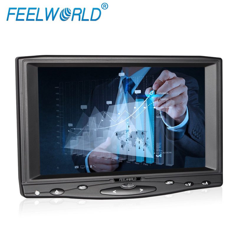 4/5 draht Widerstand Bildschirm HDMI VGA Auto LCD Display 1024x600 7 touchscreen-monitor für PC DVR Video Player kamera