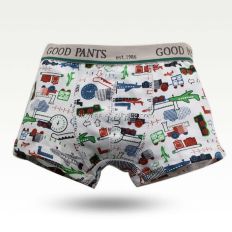 Fancy Kids Underwear For Boys,Boy Cartoon Printing Boxer Brief ...
