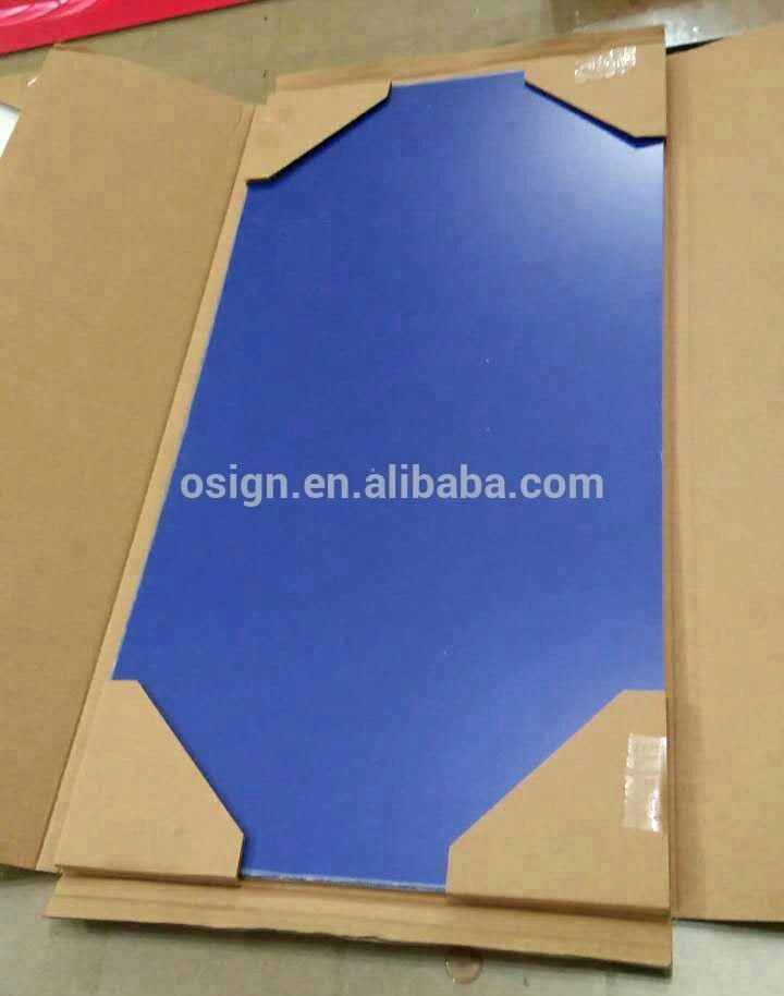 Outdoor ABS double color sheet for CO2 laser engraving