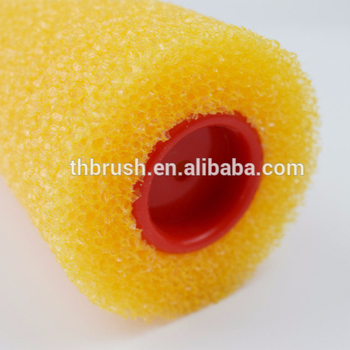 9 Inch Yellow Roller Factory Price Different Size Sponge Paint Roller