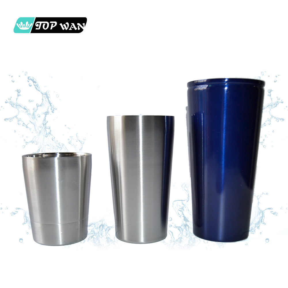 Wholesale Stainless Steel Beer Mug Double Wall Blank Vacuum Insulated Tin Cup