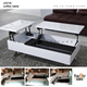 furniture high tech style folding table mechanism lift top coffee table