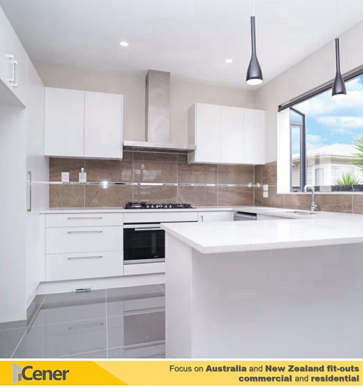European Style Kitchen Cabinet Designs Prefab Melamine Cabinets