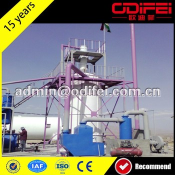 Hot selling best quality transformer oil purifier plant tyre recycling plant cost with great price