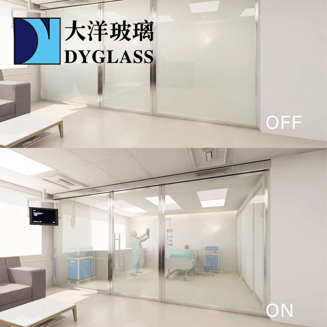 dimming smart glass pdlc film for switchable smart glass