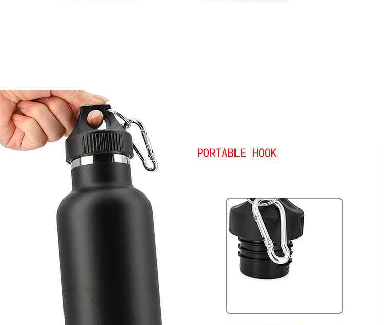304 Stainless Steel Double wall Water bottle Thermal Insulation Portable Sports Water Bottle