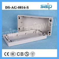 clear plastic game boxes electronic control box 160*80*55mm