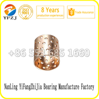 Customized OEM bearing series FB092 Bronze Wrapped Sliding bearing