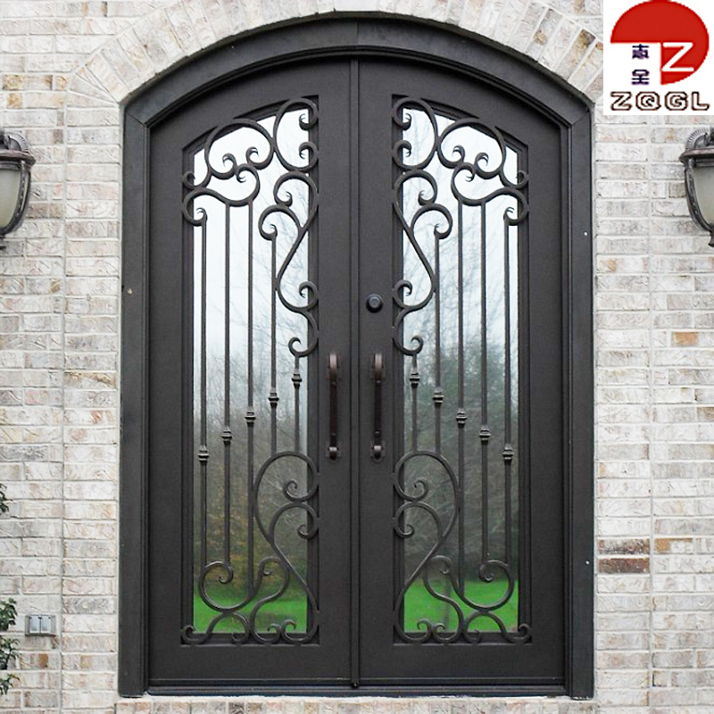 Durable Wrought Iron Entrance Door Whole Suppliers Alibaba