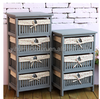 Wholesale Shabby Chic Furniture Antique Wood Cabinet
