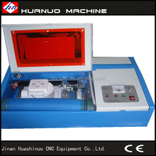 Jinan professional laser supplier mini laser stamp engraving machine