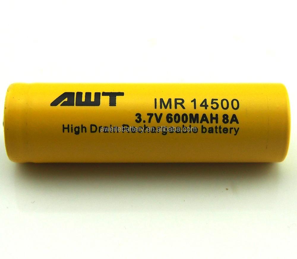 Awt Li-ion 14500 3 7v Battery 600mah 8a Energizer Battery Ultrafire  Flashlight Vape Circuit Board - Buy Energizer Battery,Vape Circuit  Board,Ultrafire