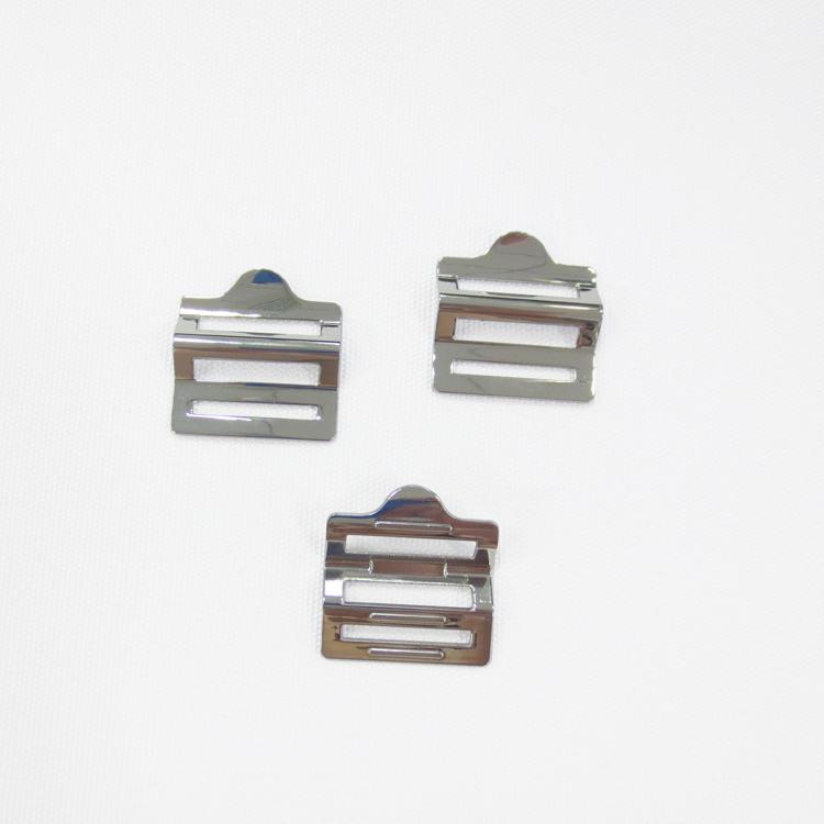 Phổ biến thời trang điều chỉnh thang vành đai khóa trượt khóa kim loại khóa cho vành đai
