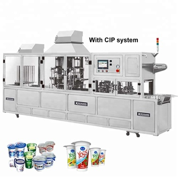 CFD-4 P WATER CUP AUTO FILLING SEALING MACHINE