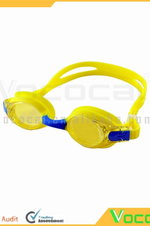 J2670 Children Kids Silicone Headband Waterproof Anti Fog UV Protective Swimming Swim Goggles with Box