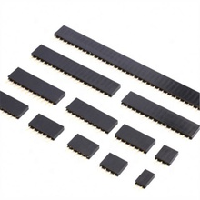2x4xPitch 2.54 millimetri Pin Strigt Donna Single Row Striscia Dell'intestazione di Pin PCB Connettore 2/3/4/5 /6/7/8/9/10/11/12/<span class=keywords><strong>13</strong></span>/14/15 /16/20/40 Pin