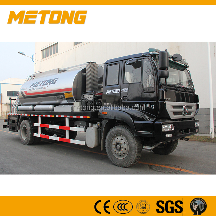 Intelligentized Asphalt distributor, Road bitumen spraying machine truck