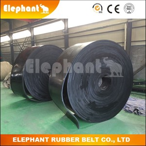Underground Coalmine Conveying Self-extinguishing Rubber Belt
