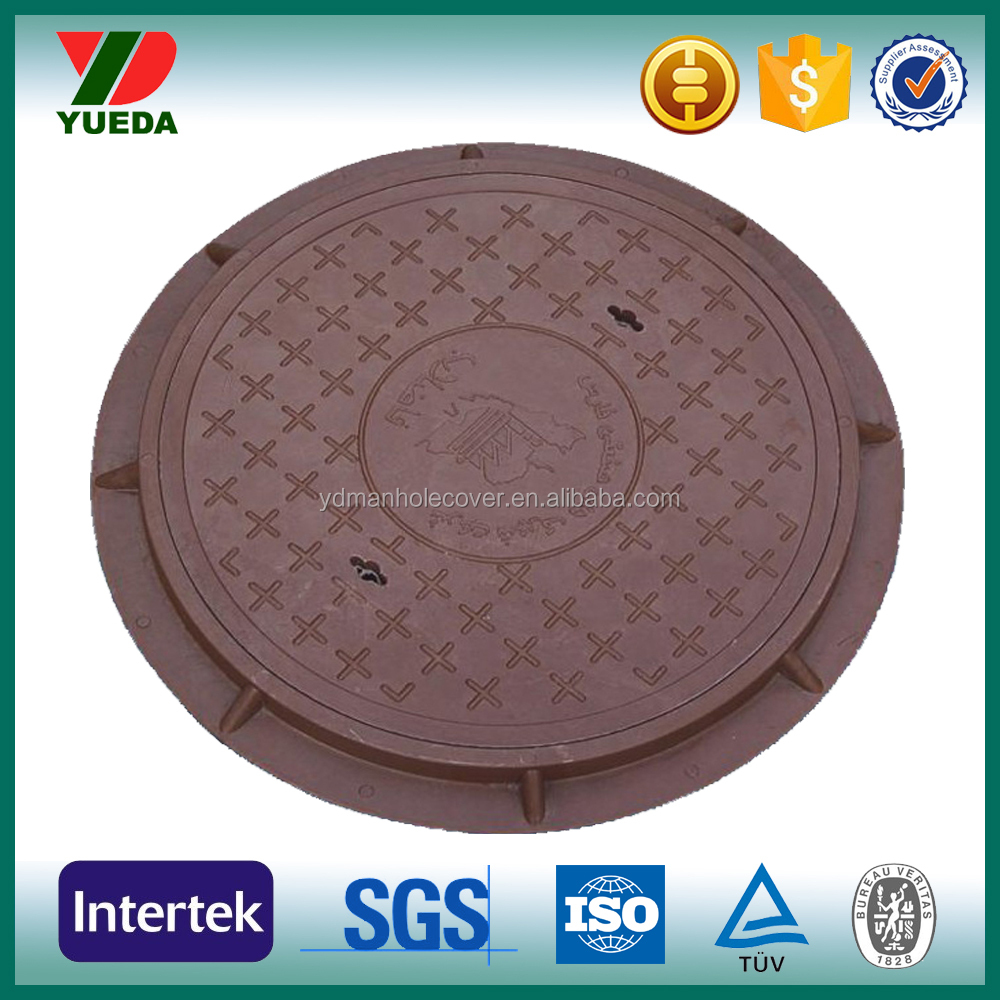 No.1 manufacturer customized round manhole cover and smc manhole cover for sale