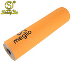 High quality gym fitness custom logo tpe yoga mat with strap