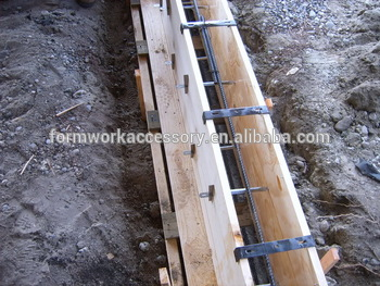 concrete plywood forming tie snap tie and wedges