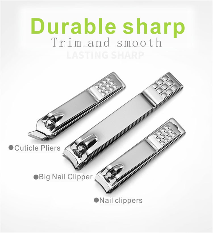 M18 Trimmer beauty gift all complete 18 piece manicure set professional stainless steel nail clipper set