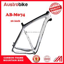 a56e64e5f Fibra de carbono bicicleta de montanha quadro 26
