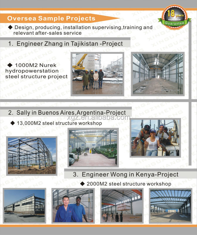 prefabricated steel structural building materials