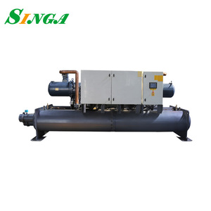 Flooded type 100 Ton Screw Water Chiller