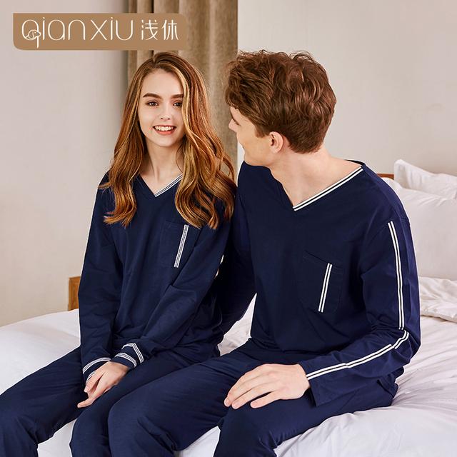de mujeres para las de Navidad manga pijamas trajes mujer de larga mujeres de pijamas Par PqEaq