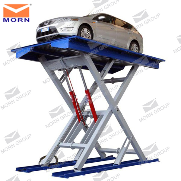 CE portable hydraulic car lift table price for service station