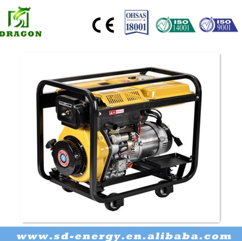 High quality low price portable 20KW diesel generator for Africa