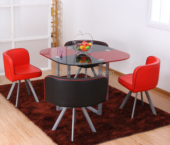 Wholesale Space Save Dining Table And Chair Set,Dining Set Furniture ...