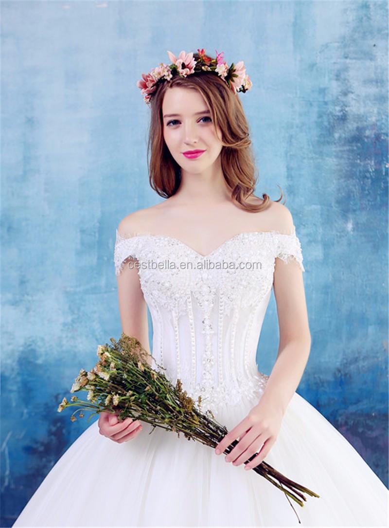 Hohe Qualität Sexy Weiß Süße Braut Brautkleid 2016 Schöne ...