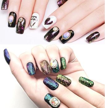 Famous Nail Polish Brand Ice Ma Wholesale Iridescent Cloud Galaxy ...