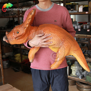 High quality hot sale Kids Park Animal statue fiberglass dinosaur